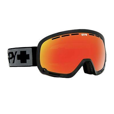 531bc1e02b5d SPY OPTIC MARSHALL Ski Snowboarding Goggles Black Frame Bronze Red Spectra  Lens
