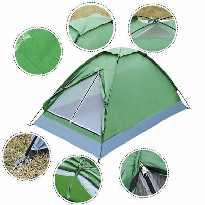 Waterproof 2 Person Camping Tent Traveling Outdoor Hiking Ba