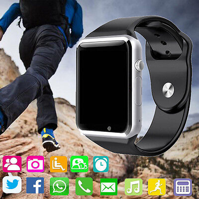 2016 New A1 Bluetooth Apt Wrist Watch GSM Phone for Android Samsung iPhone IOS