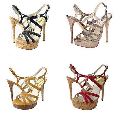 Michael Kors Womens Cicely Platform Open Toe Strappy Buckle Dress Heels Sandals Michael Kors Womens Dress Sandal