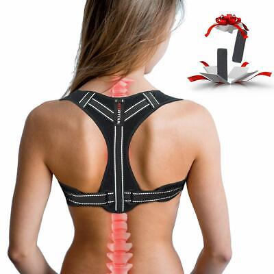 Adjustable Back Posture Corrector for Men Women, Effective Comfortable Best