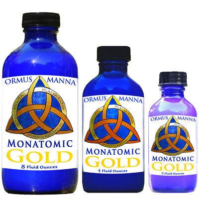 2 oz  Ormus Manna Monatomic Gold, Platinum & Silver ~ 12x Concentrated A+