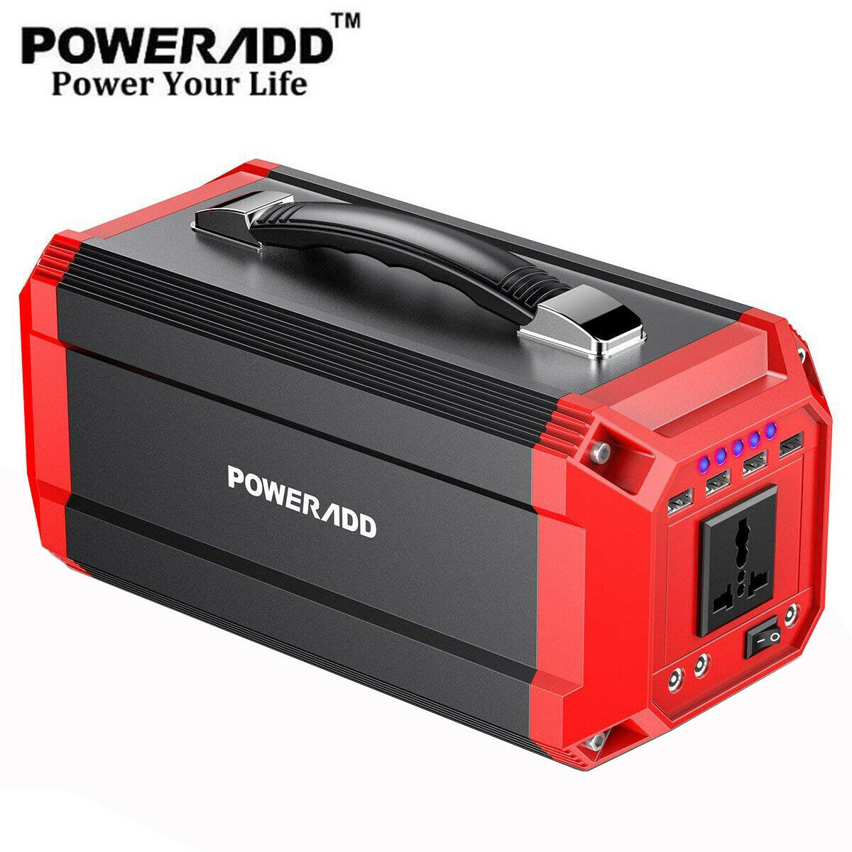 Poweradd 73000mAh Portable Generator Power Inverter Power Ba
