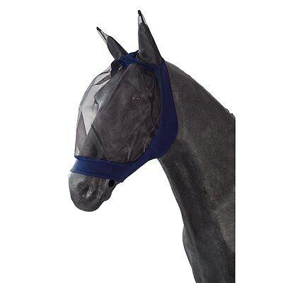 PFIFF Maschera volo Per cavalli - blu - Pony Cappuccio copriorecchie Volare