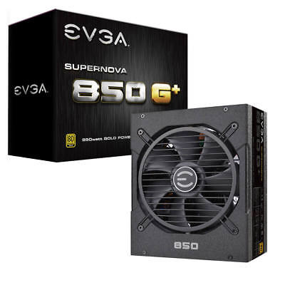 EVGA SuperNOVA 850 G1+,80 Plus Gold,Fully Modular,10 Yr Warranty, 120-GP-0850-X1