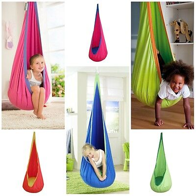 Child Hanging Swing Seat Chair Crows Nest ...