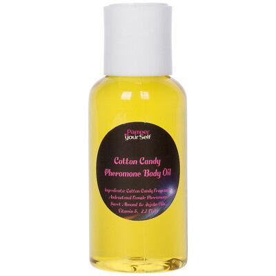 Cotton Candy Women Pheromone Perfume Body Oil 2.7 Fl Oz