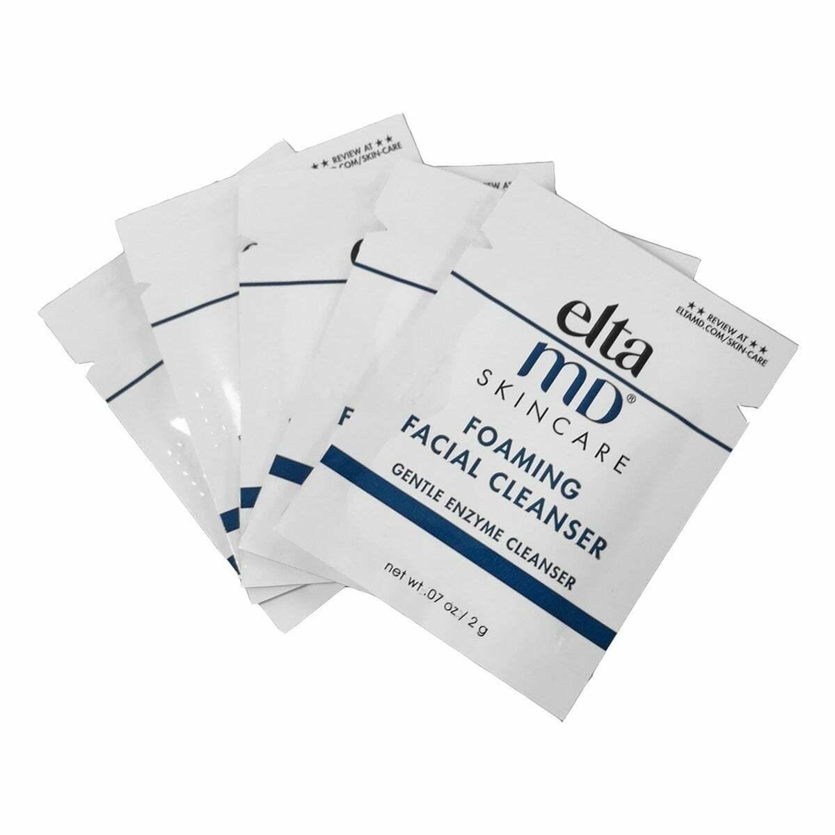 Elta md Foaming Facial Cleanser sample pack