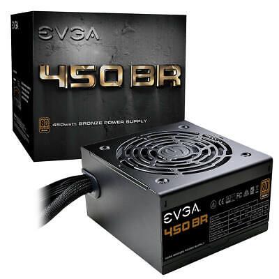 EVGA BR Power Supply Internal 120 V AC, 230 V AC Input 450 W / 3.3 V DC, 5 V 12
