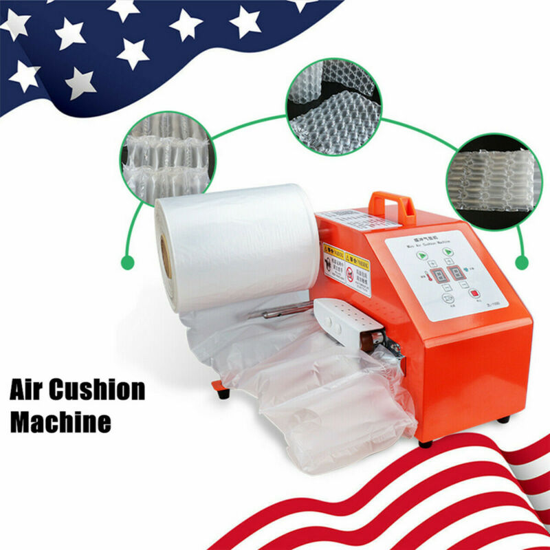 Inflated Air Easi Cushion Wrap Machine Air Pillow Packaging Bag 110V 200W USED!!