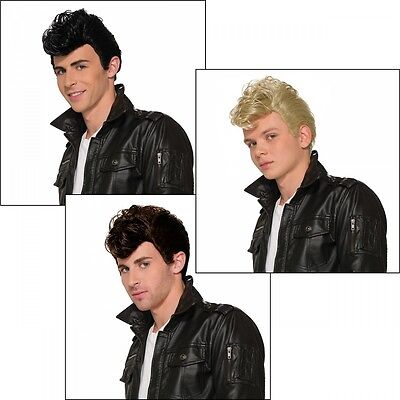 50s Greaser Wig Costume Accessory Adult Halloween