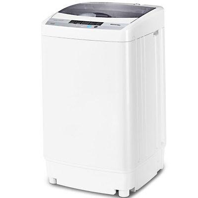 Pocket-sized Washing Machine Spin Compact Washer 1.6 Cu.ft Drain Pump