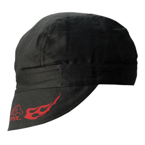 Revco Black Stallion BSX Welding Cap Beanie Hat, 100% Cotton BC5W-BK