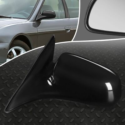 FOR 99-03 MITSUBISHI GALANT OE STYLE MANUAL LEFT SIDE VIEW DOOR MIRROR ASSEMBLY