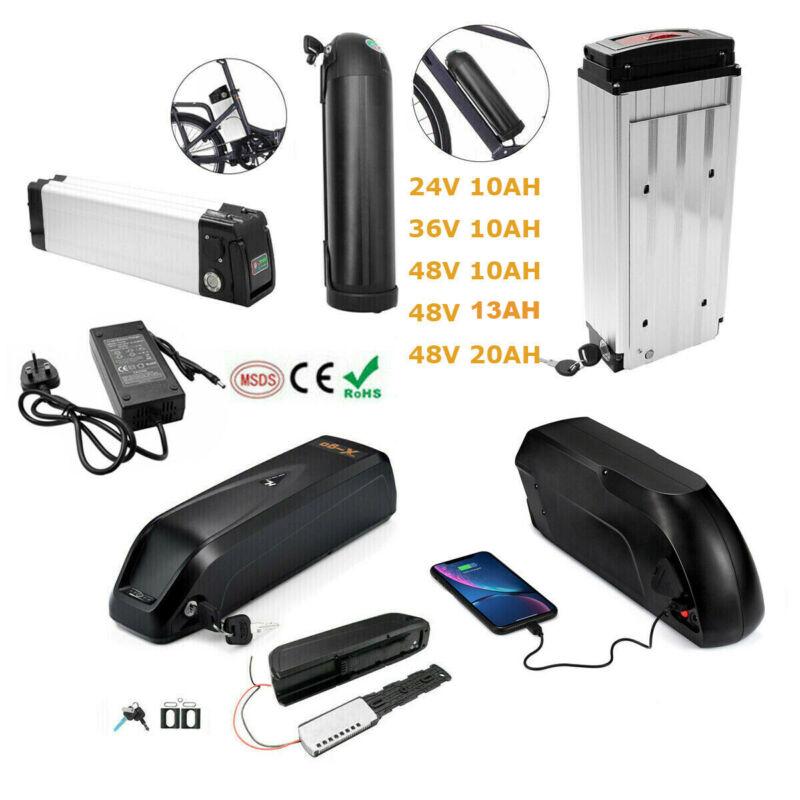Bicycle Ebike lithium Battery 24V 36V 48V 13AH 10Ah 20Ah 1500W 350W 500W 1000W