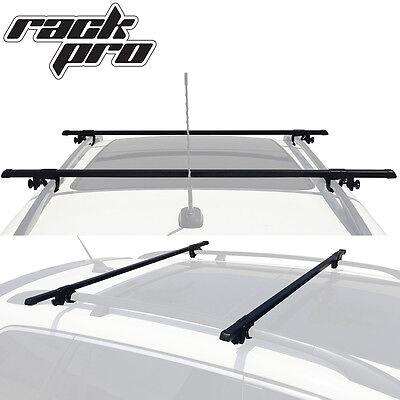 Wagon SUV Universal Roof Rack Cross Bar Rail Pair Car Luggage Rooftop Horizontal