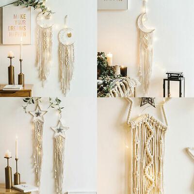 45'' BOHO Macrame Tapestry Woven Handmade Wall Hanging Home Décor Craft Art