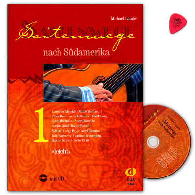Saitenwege nach Südamerika Band 1 mit CD - Edition Dux - DUX866 - 9783868493214