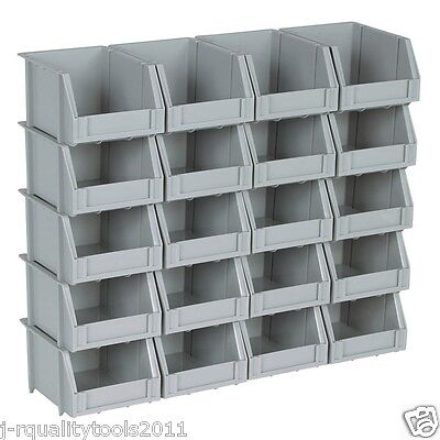 Small Mini Plastic Parts Bin Storage Rack For Organizer Bolts Beads - 20 Bins