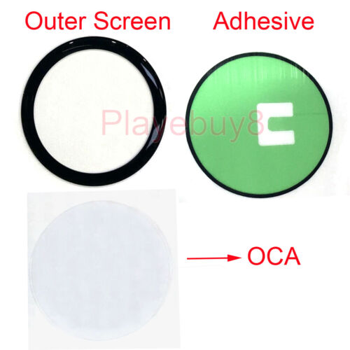 Front Outer Screen Glass Lens Panel For Samsung Galaxy Watch Active 2 40mm 44mm