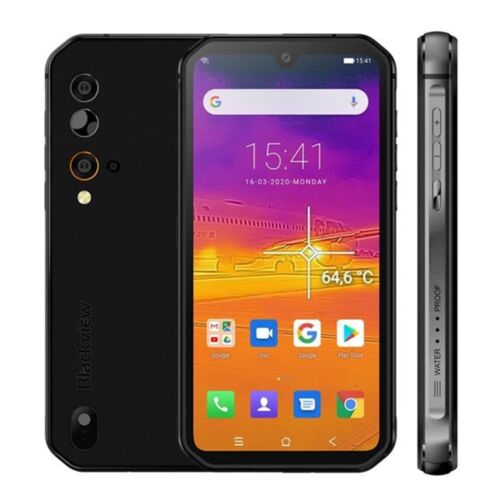 Blackview BV9900 Pro BV9900 Wärmebildkamera 4G Smartphone Handy 48MP Helio P90