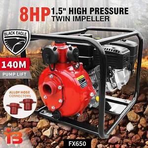 Get Twin Impeller Lifen 4-Stroke Engine 8.0HP Petrol Water Pump Fairfield Fairfield Area Preview