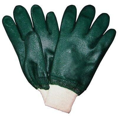 1 Dozen Memphis Double Dipped Pvc Coated Work Gloves Large