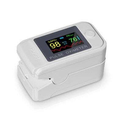Oximeter Blood Oxygen Meter Spo2 Heart Rate Monitor Saturation Finger Tip Pulse