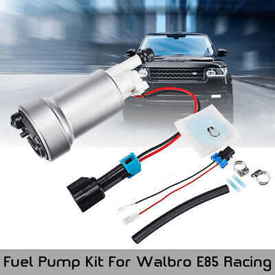 Racing High Performance 450LPH Fuel Pump & Install Kit For Walbro E85 F90000267