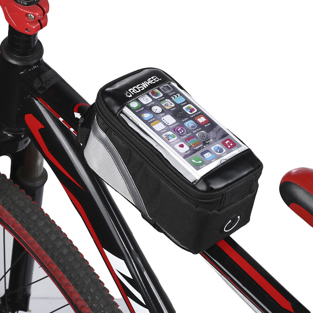 Waterproof Cycling Bag Bike Bicycle Front Frame Pannier Tube