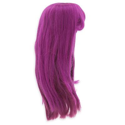 New Disney Store Descendants Mal Costume Wig Girls Halloween Dress Up