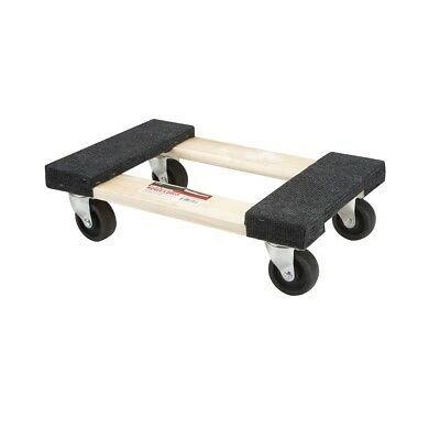 18 In. X 12 In. 1000 Lb. Capacity Hardwood Dolly Moving Furniture Heavy Duty New