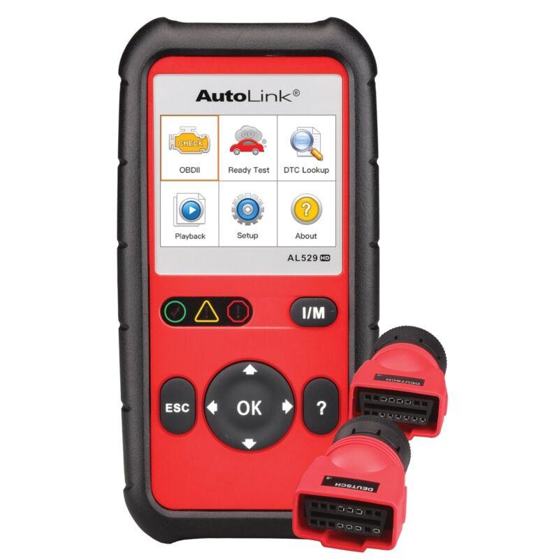 Autel Al529hd Heavy Duty Vehicle Code Reader