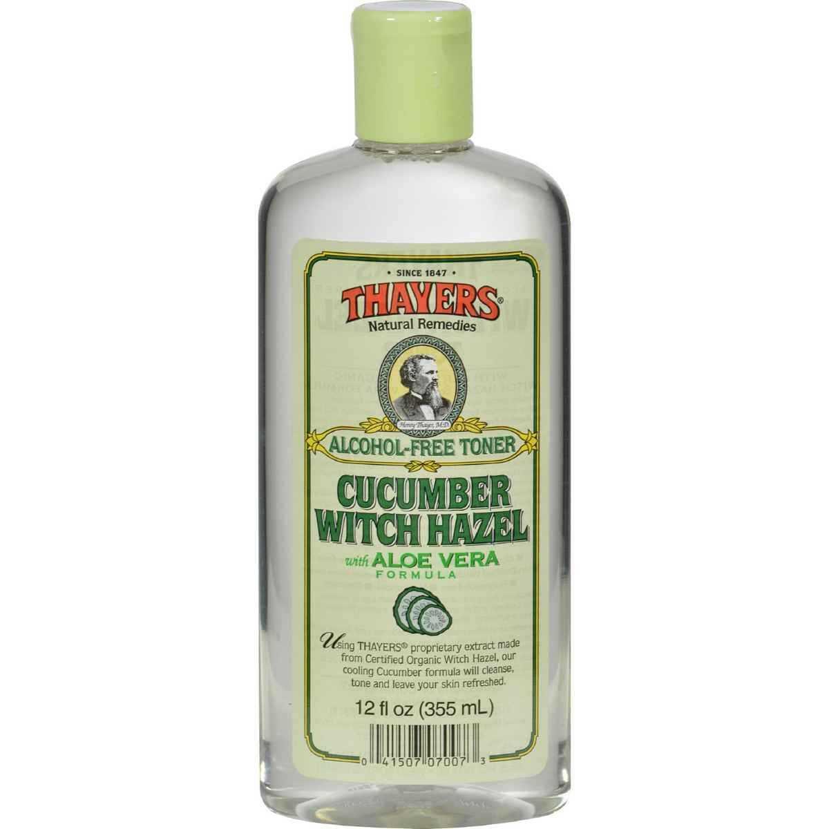 Thayers Witch Hazel with Aloe Vera Cucumber - 12 fl oz