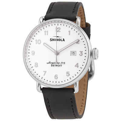 Shinola Canfield Quartz White Dial Men's Watch 20089881