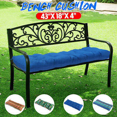 Romhouse Outdoor Waterproof Solid Bench Cushion Swing Mat Hi