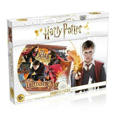 Harry Potter Quidditch 1000 Piece Jigsaw Puzzle (White)