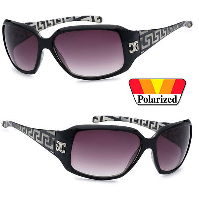 CG Eyewear Womens Polarized Sunglasses Designer Shades - Shaded Black CG01