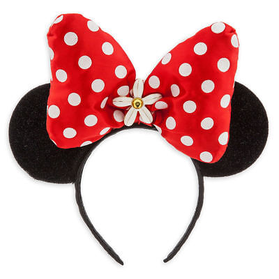 Disney Authentic Minnie Mouse Ear Costume Headband Bow Polka Dot One - Authentic Minnie Mouse Costume