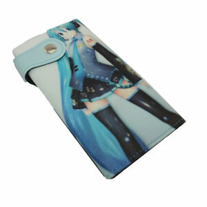 New Hatsune Miku Vocaloid Anime Money Long Card Purse Wallet Bag (1075160)