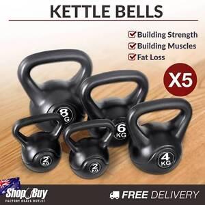 Brand New: Kettle Bells Set Weight Training Kit Gym Fitness Exer Sydney City Inner Sydney Preview