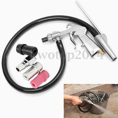 Air Sandblaster Sandblasting Blast Gun+Nozzles+Connector+Tube Derusting Tool Kit