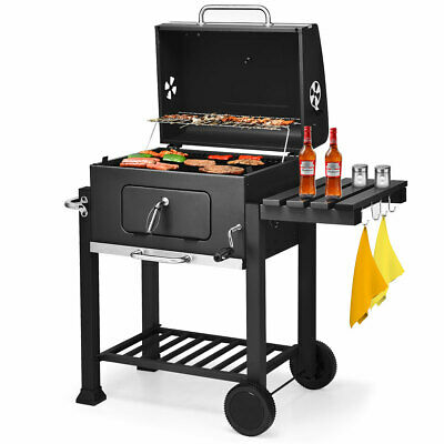 Charcoal Grill Barbecue BBQ Grill Outdoor Patio Backyard Coo