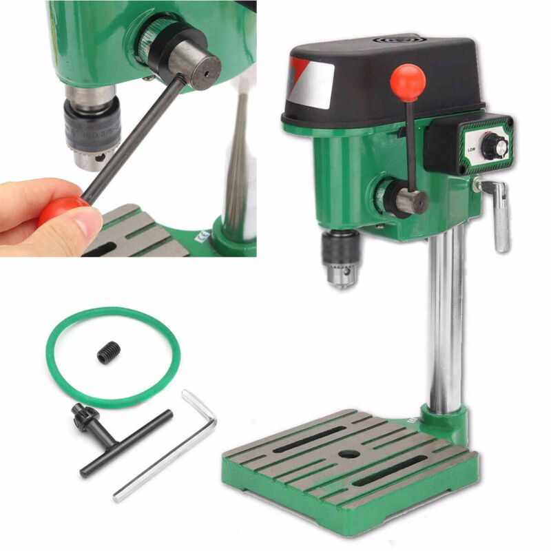 220V 380W Electric Bench Drill Press Table Stand Bracket Mac