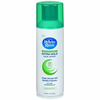 White Rain Hair Spray Extra Hold Unscented - 7 OZ (3 Packs) for sale  Shipping to India
