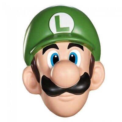Luigi Mask Super Mario Brothers Nintendo Video Game Cosplay Halloween Costume