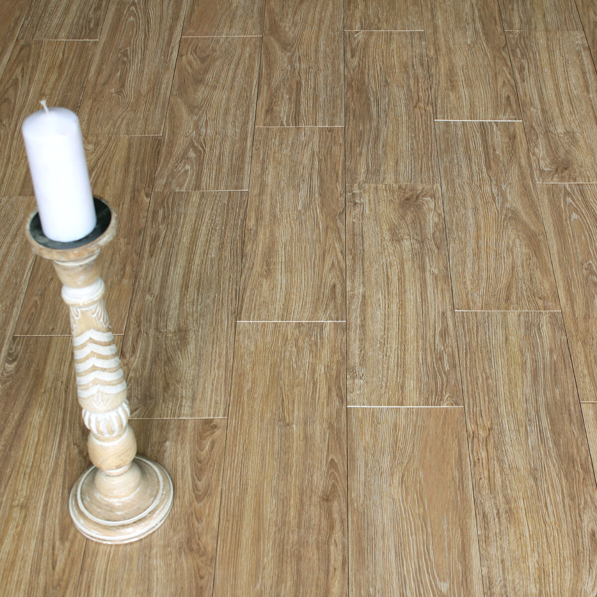 57x19cm Vera Beige Wood Effect Ceramic Floor Tiles 1 Sqm 9 23