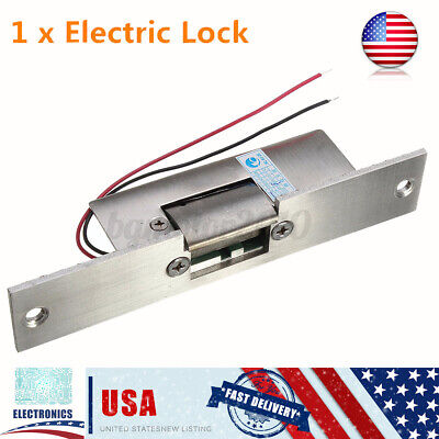 Fail Safe Electric Strike Lock NC Door Gate 12V Drop Security For Access Control
