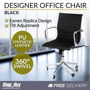 Brand New: PU Leather Office Chair Eames Replica Executive Compu Baulkham Hills The Hills District Preview