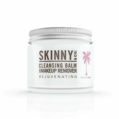 SKINNY and CO. Makeup Remover & Cleansing Balm, Coconut Oil and Essential Oils Essential Oils Makeup Remover